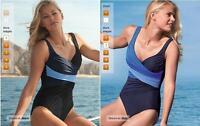 Miraclesuit Calypso Be Dazzled One Piece swim suit swimwear bathing suit  Sz.  8