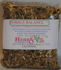 Herbs by Merlin FEMALE BALANCE TEA- (Hormones & Estrogen) Organic Tea 3 oz