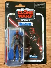STAR WARS VINTAGE COLLECTION DARTH MAUL MANDALORE THE CLONE WARS KENNER!!!!