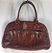 Franco Sarto Brown Reptile Print Handbag Bag Purse