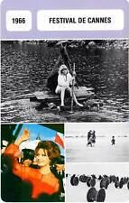 FICHE CINEMA :  FESTIVAL DE CANNES 1966 - Lelouch,Loren,Redgrave