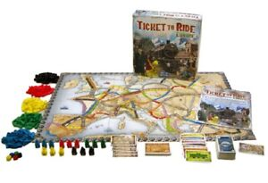 Ticket To Ride Europe genuine Replacement Parts Pieces Stations Trains Cards New