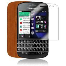 Skinomi Light Wood Full Body Phone Skin+Screen Protector for BlackBerry Q10