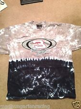 "Nascar Dale Earnhardt ""The Intimidator"" Tie Dyed T Shirt Winston Cup New In Pk"