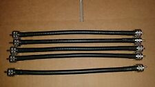 5 Pcs   US MADE  LMR-400 PL259 to PL259 UHF COAX CABLE Antenna (CNT-400) 1 FT