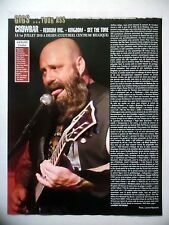 COUPURE DE PRESSE-CLIPPING :  CROWBAR 09/2010 Live Report Dilsen,Belgique