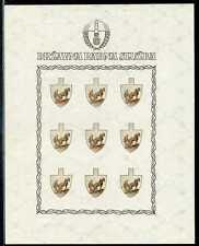 Kroatien Mi 94/96   je kpl. Bogen (*)   Proben