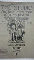 THE STUDIO an illustrated magazine of fine art & applied art jan. 15 1903
