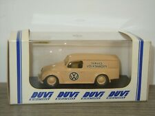 VW Volkswagen Beetle Service Van - Duvi 1:43 in Box *44838