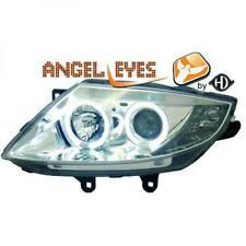 LHD Phares Projecteur Paire Angel Eyes Chrome Clair H1 H7 pour Bmw Z4 02-09