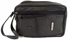 Super Soft Nappa Leather Bag with Wrist Strap and Multiple Compartments