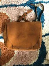 Fossil Mens leather messenger bag
