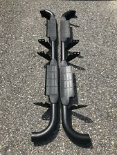 2003-2009 Hummer H2 OEM Running Boards Step Nerf Bar Passenger And Driver Side