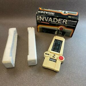 Vintage Galaxy Invader CCL Handheld Electronic LSI Game in Original Box, Working