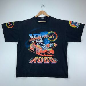 Nascar Ricky Rudd Vintage T-shirt Size XXL Black Rudd Performance Motorsports