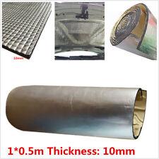 1*0.5m Car Sound Insulation Heat Barrier Noise Dampener Soundproofing Foam 10mm
