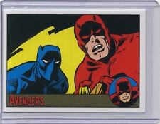 2015 Marvel Avengers Silver Age #82 GOLD parallel /10