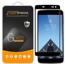 2X Supershieldz Alcatel Idol 4S Full Cover Tempered Glass Screen Protector BLACK