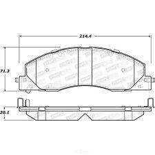 Disc Brake Pad Set-Street Brake Pads Front Stoptech 308.13990