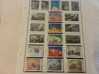 Lot of 10 Upper Volta Stamps, Space, Washington, American Revolution