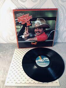 ORIGINAL MUSIC SOUNDTRACK  Smokey And The Bandit 2 1978 VINYL LP