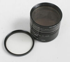 LOT OF TEN UV/SKYLIGHT/CLEAR 55MM FILTERS/167057