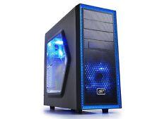 AMD Ryzen 8GB Nvidia GTX 1050 Custom Gaming PC Desktop Computer Quad Core HDMI !