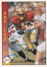Amp Lee Autograph On A 1992 Pacific - San Francisco 49ers - Free Ship