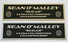 Sean O' Malley UFC nameplate for signed mma gloves photo or case