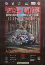 Original Targa Florio 2000 Poster Maserati Birdcage Mille Sizilien Ferreyra