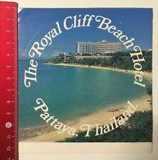 Aufkleber/Sticker: The Royal Cliff Beach Hotel - Pattaya Thailand (280516158)