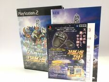 Playstation 2 PS2 Super Robot Wars Alpha 2 α Japan JP GAME z3083