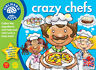 Orchard Toys 017 Crazy Chefs  Kids Childrens Toddler Fun Learning Game 3 - 7 Yrs