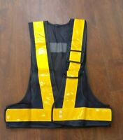 Reflective Mesh Vest High Visibility Knitted Safety Clothing For Utility Use New