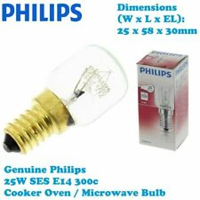 Superser Genuine Philips Cooker Oven Microwave 300c Stove Lamp Bulb 25W E14