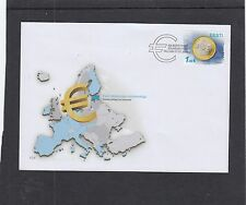 Estonia  2011 Joins Euro coin First Day Cover FDC Tallin special h/s