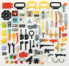 75+ New Lego Accessory Lot minifig weapon parts tools minifigure accessories gun