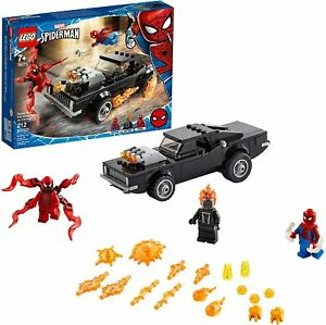 LEGO Marvel Spider-Man and Ghost Rider vs. Carnage 76173 Playset 212pcs Jan.1,21