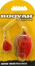 Booyah Micro Pond Magic Spinnerbait Fishing Lure (Fire Ant) 1/8 oz