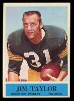 1964 Philadelphia Football #80 Jim Taylor Green Bay Packers - DLID007
