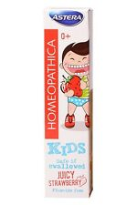 Best Homeopatica Natural Toothpaste Kids Juicy Strawberry with Xylitol, SLS Free