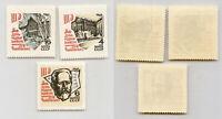 Russia USSR 1966 SC 3207-3209 MNH. rtb4574
