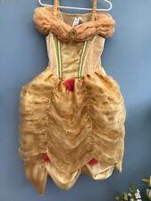 Disney Princess Belle Beauty & The Beast Fancy Dress Costume age 5 - 6 yrs