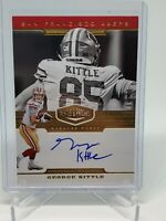 2019 Panini Plates & Patches George Kittle Auto #/99 SSP On card 49ers