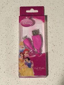 Disney Princess Mini USB Cable (USB 1.1/2.0)