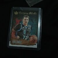2018 Luka Doncic Rookie Card Court Kings Emerging Artists Dallas Maverics RC