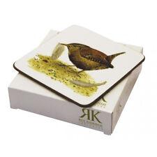 Roy Kirkham Garden Birds Sous-verre Boisson Tapis Ensemble de 6 Nature Cuisine