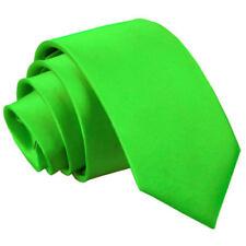 Vêtements de cérémonie cravates vert pour homme