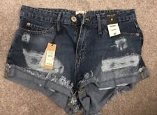 River Island Denim Shorts Size 8 BNWT