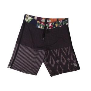 Billabong board short swim trunks px2 Platinum men's 32 x 9 brown Floral